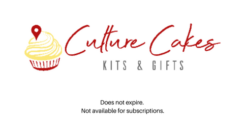 Culture Cakes Gift Card