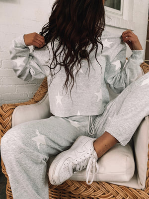Gray Star Sweats