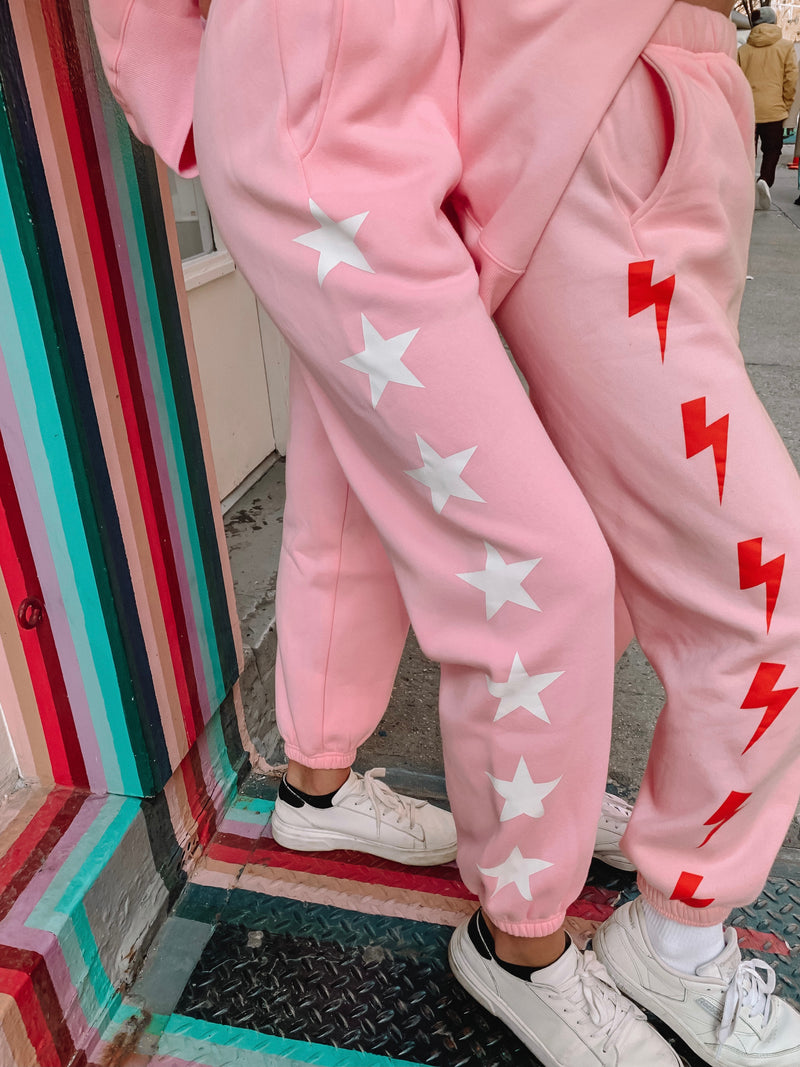 Limited Pink Star Sweats