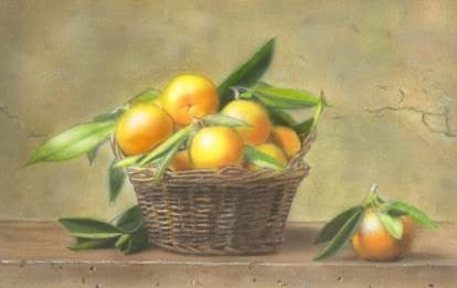 Learn How to Paint with Airbrush For Beginners (Tangerines Fruit Basket)