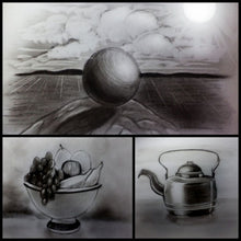 Load image into Gallery viewer, Learn How to Draw Using Charcoal for Beginners