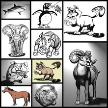 Load image into Gallery viewer, Learn How to Draw Animal Cartoons For the Beginner
