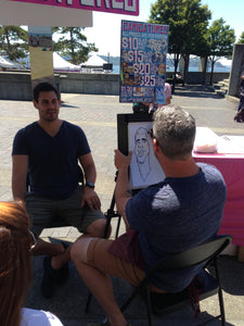 Make Money With Art - How to Make $500 This Weekend - Setting Up Shop as a Street Vendor
