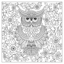 Load image into Gallery viewer, Adult Coloring Book - Bird Pattern For Beginners