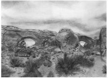 Load image into Gallery viewer, Learn How to Draw Landscapes in Pencil and Charcoal For The Absolute Beginner