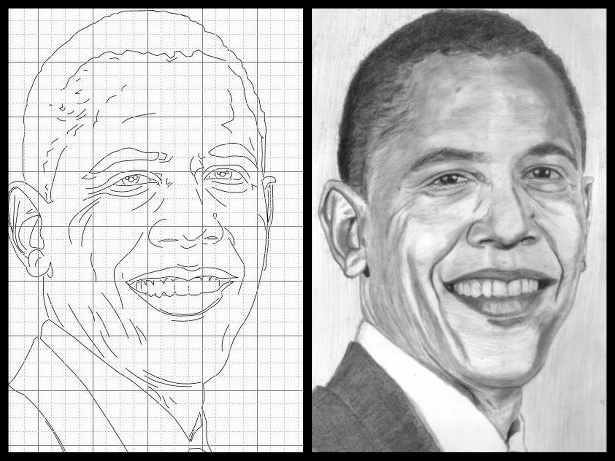 Learn How to Draw Portraits of Famous People in Pencil For the Absolut –  Learn to Draw Books
