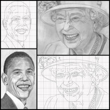 Load image into Gallery viewer, Learn How to Draw Portraits of Famous People in Pencil For the Absolute Beginner