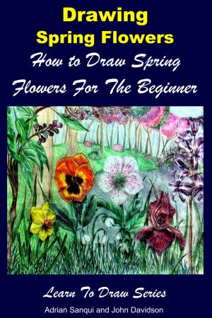 Drawing Spring Flowers - How to Draw Spring Flowers For the Beginner
