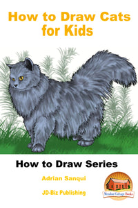 How to Draw Cats for Kids-How to draw series