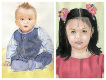 Load image into Gallery viewer, Learn How to Paint Portraits of People In Watercolor For the Absolute Beginners