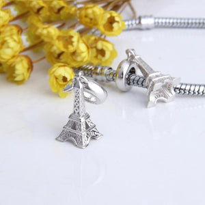 Eiffel Tower Pendant Charm - The Silver Goose