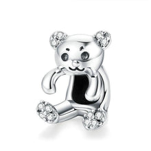 Load image into Gallery viewer, Hanging Bear Charm - The Silver Goose