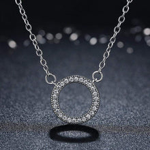 Load image into Gallery viewer, Circle Pendant Necklace - The Silver Goose