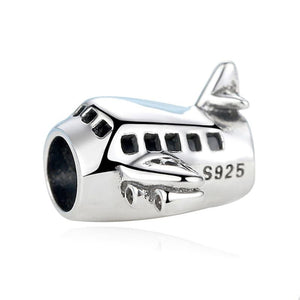 Aeroplane Charm - The Silver Goose
