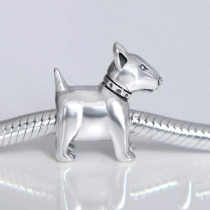 Bull Terrier Charm - The Silver Goose