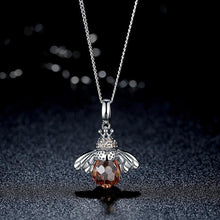 Load image into Gallery viewer, Bee Pendant Necklace - The Silver Goose