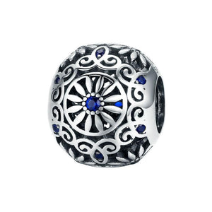 Intricate Bead Charm - The Silver Goose