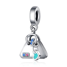 Load image into Gallery viewer, Little Handbag Charm - The Silver Goose