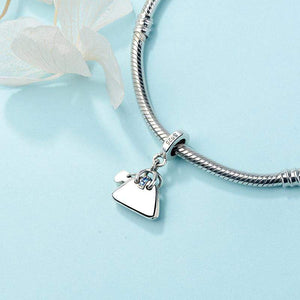 Little Handbag Charm - The Silver Goose