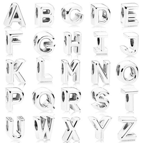 Alphabet Letters Charm - The Silver Goose
