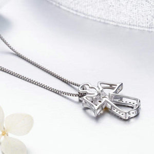 Angel Pendant Necklace - The Silver Goose