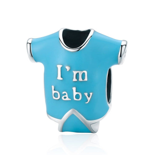 Babygrow Charm - The Silver Goose