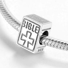 Load image into Gallery viewer, Bible Charm - The Silver Goose
