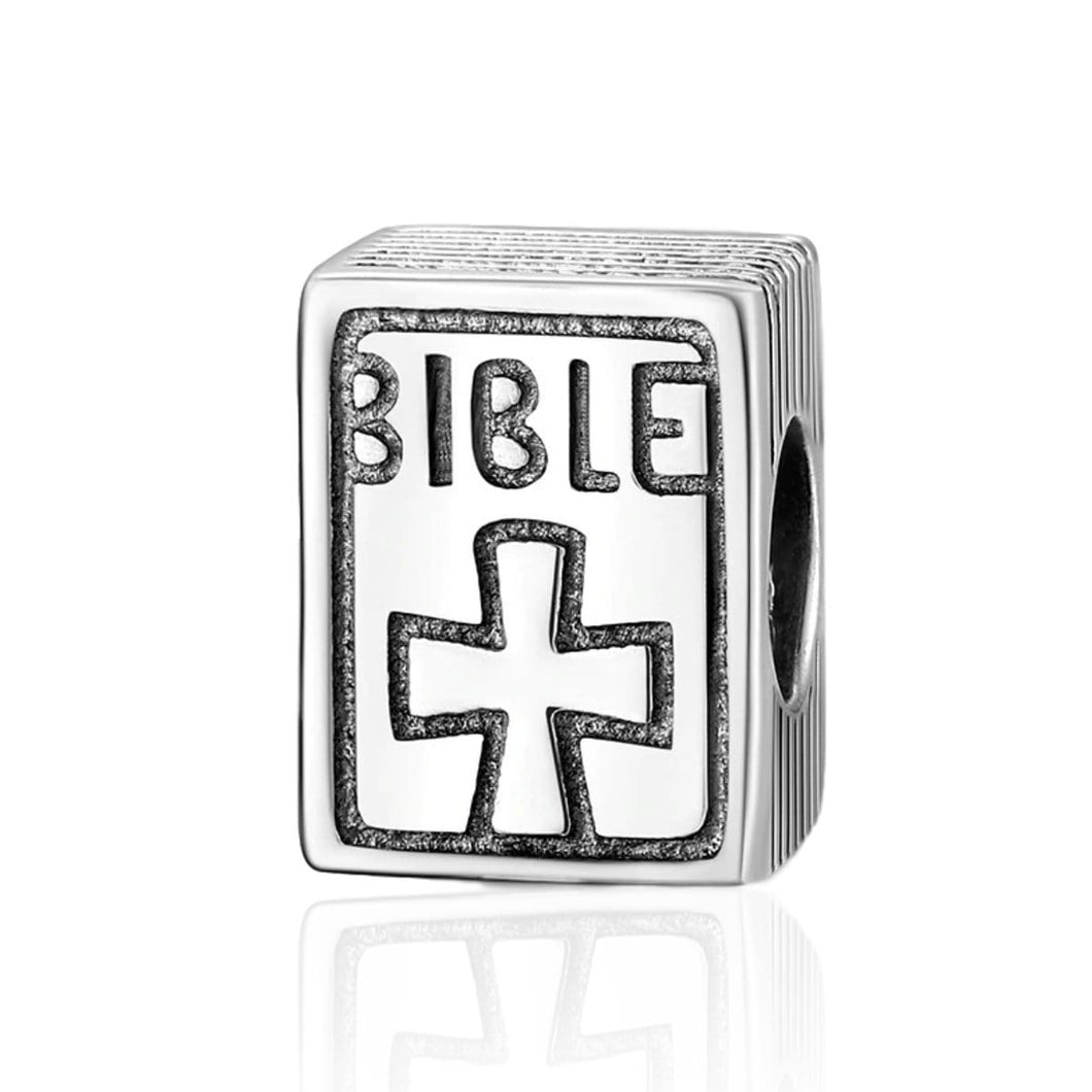 Bible Charm - The Silver Goose