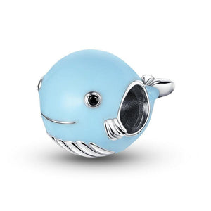 Blue Whale Charm - The Silver Goose