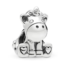 Load image into Gallery viewer, Bruno Unicorn Charm - The Silver Goose