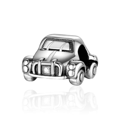 Classic Car Charm - The Silver Goose