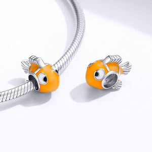 Clownfish Charm - The Silver Goose
