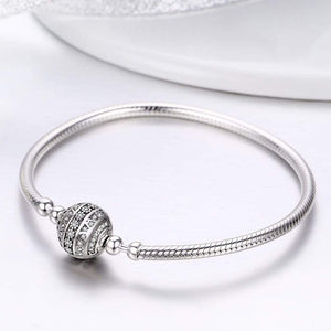 Dazzling Snake Chain Bracelet - The Silver Goose
