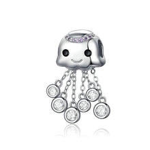 Load image into Gallery viewer, Jellyfish Charm - The Silver Goose