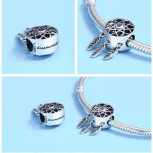 Load image into Gallery viewer, Dreamcatcher Charm - The Silver Goose
