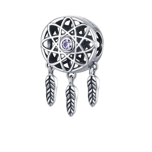 Dreamcatcher Charm - The Silver Goose