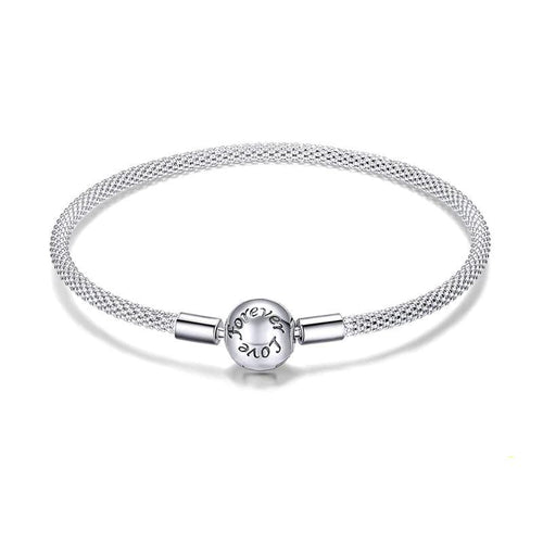 Forever Love Bangle Bracelet - The Silver Goose