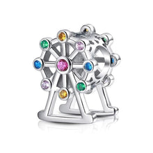 Load image into Gallery viewer, Ferris Wheel Charm - The Silver Goose