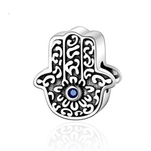 Load image into Gallery viewer, Hamsa Hand Charm - The Silver Goose