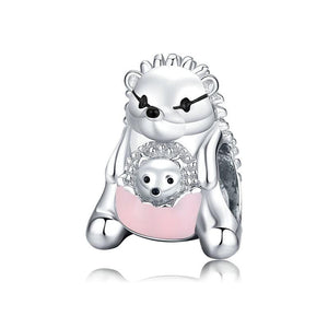 Hedgehog Charm - The Silver Goose