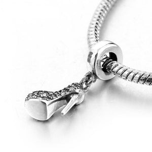 High Heel Pendant Charm - The Silver Goose