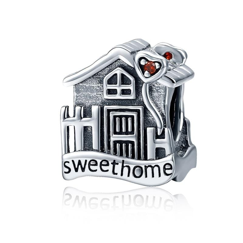 Sweet Home Charm - The Silver Goose