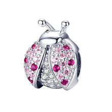 Load image into Gallery viewer, Ladybug Charm - The Silver Goose