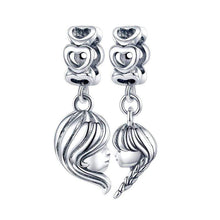 Load image into Gallery viewer, Mother & Daughter Charm - The Silver Goose