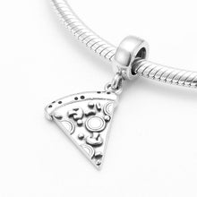 Load image into Gallery viewer, Pizza Slice Pendant Charm - The Silver Goose