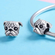 Load image into Gallery viewer, Pug Charm - The Silver Goose
