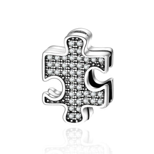 Puzzle Reflexion Charm - The Silver Goose