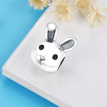 Load image into Gallery viewer, Bunny Charm - The Silver Goose