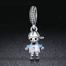 Load image into Gallery viewer, Little Boy Pendant Charm - The Silver Goose
