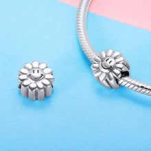 Load image into Gallery viewer, Smiling Sunflower Charm - The Silver Goose